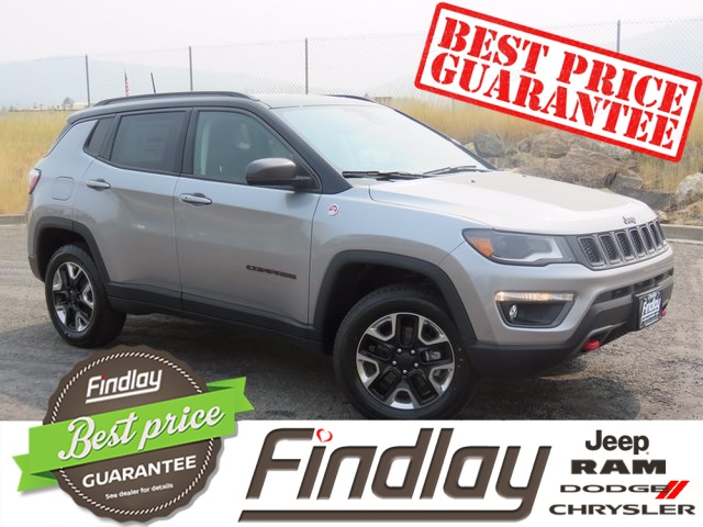 new 2017 jeep compass trailhawk 4d sport utility in post falls j170389 findlay auto post falls. Black Bedroom Furniture Sets. Home Design Ideas
